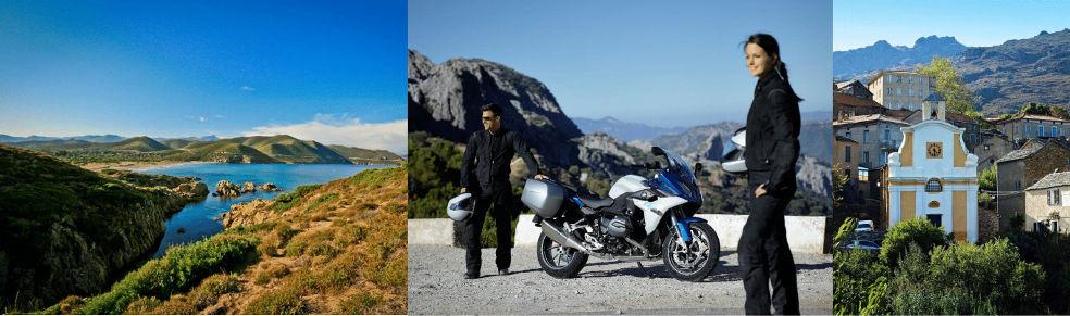 Road trip moto Corse