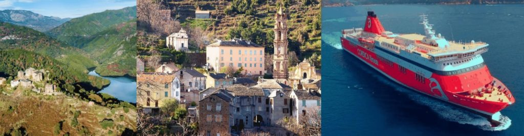 Voyage moto guidée Corse