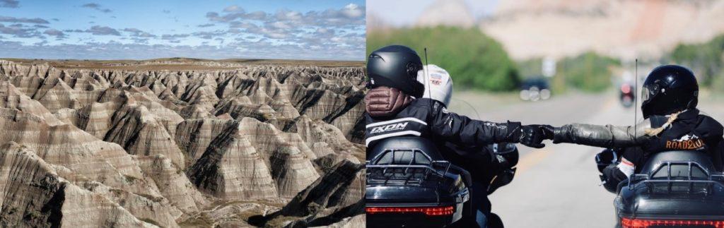 Road trip guidé moto Etats Unis
