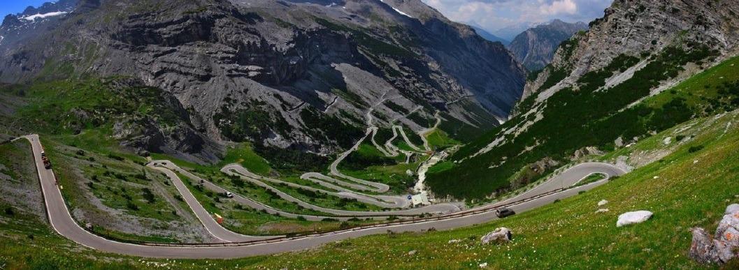 Road trop moto Alpes