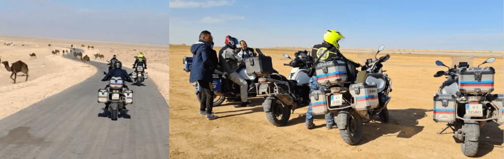 Road trip moto Tunisie