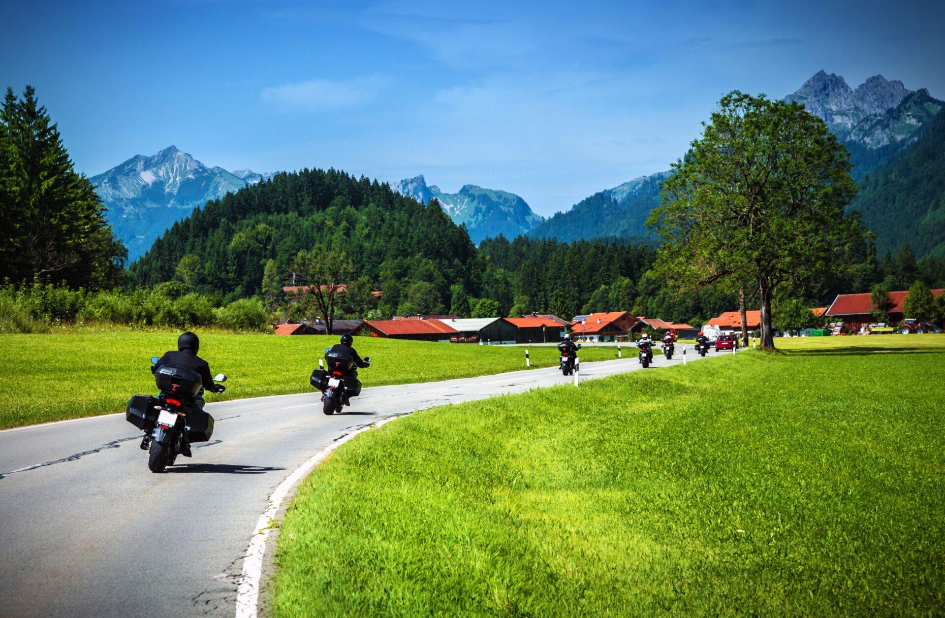 Voyage moto Europe